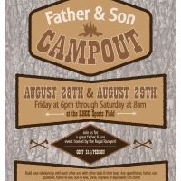 Father Son Campout